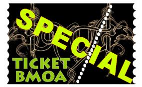 Ticket BMOA CORONA SPECIAL 2020 - 15. August 2020